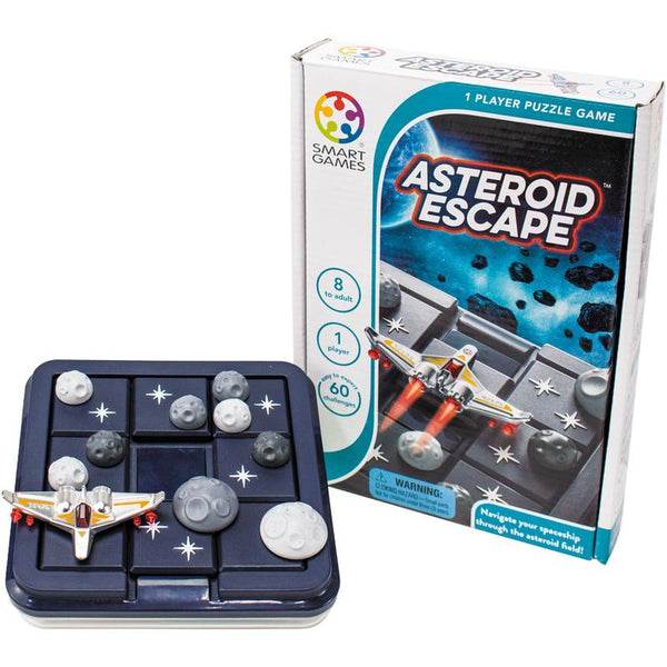 ASTEROID ESCAPE COGNITIVE SKILL-BUILDING BRAIN GAME
