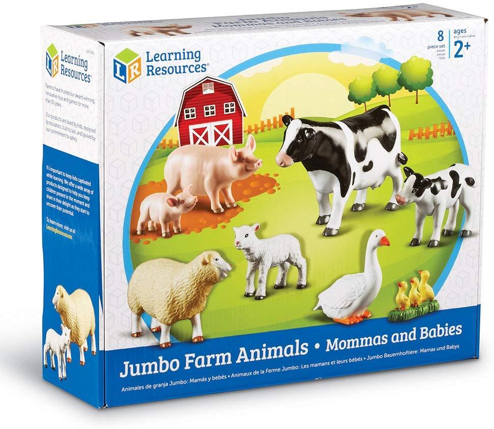 JUMBO FARM ANIMALS (MOMMAS & BABIES)