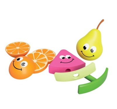 FRUIT FRIENDS  3-IN-1 SENSORY TOY