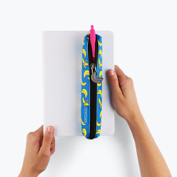 * BANANA WRAP-AROUND PENCIL CASE *