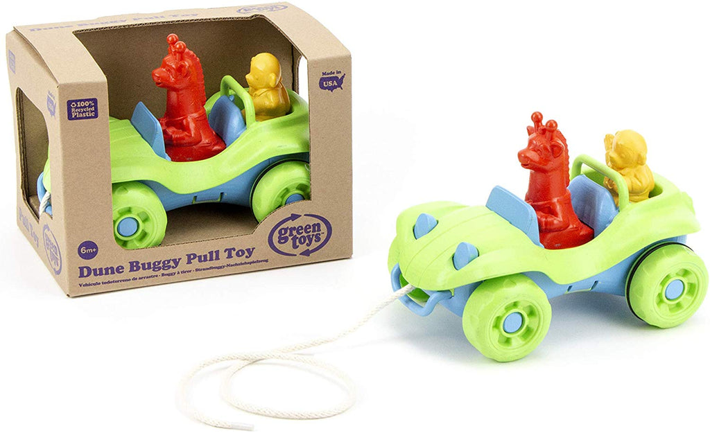 GREEN TOYS - DUNE BUGGY PULL TOY