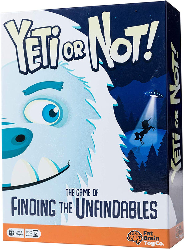 YETI OR NOT BRAINTEASER GAME