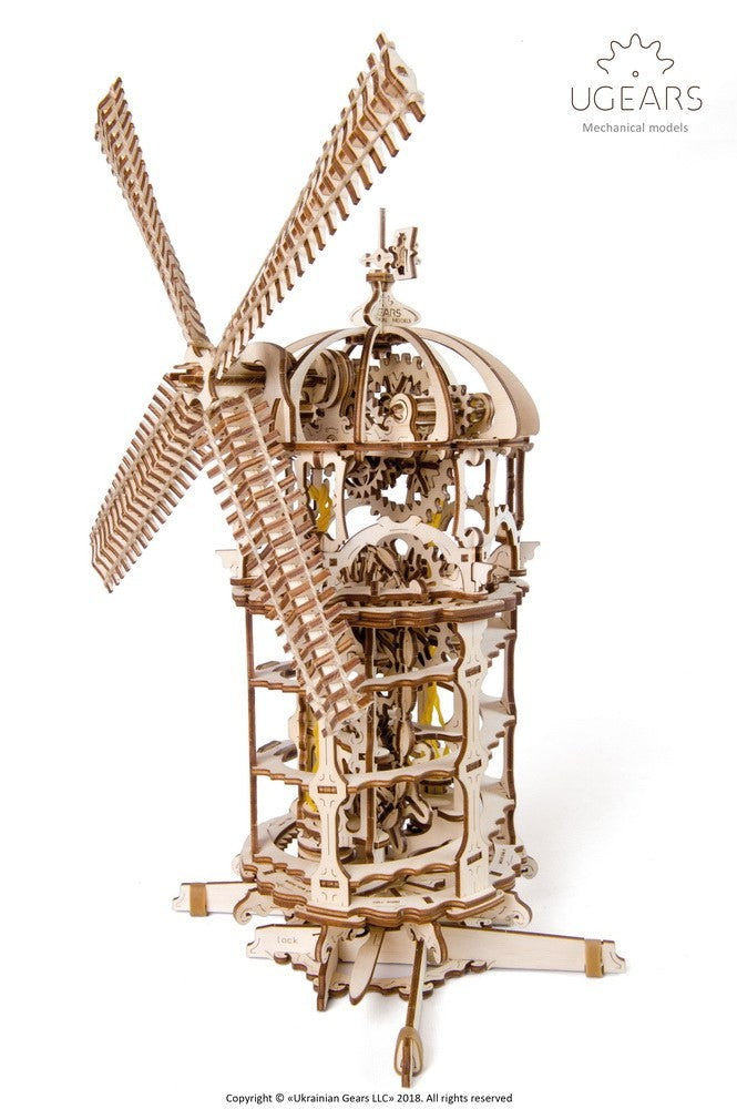 UGEARS - TOWER WINDMILL