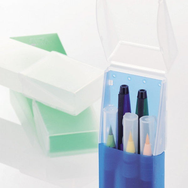 LIHIT LAB AQUA DROPS SLIDE PEN CASE