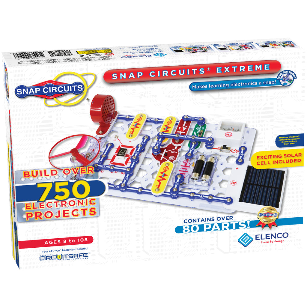 SNAP CIRCUITS: EXTREME 750-IN-1 KIT