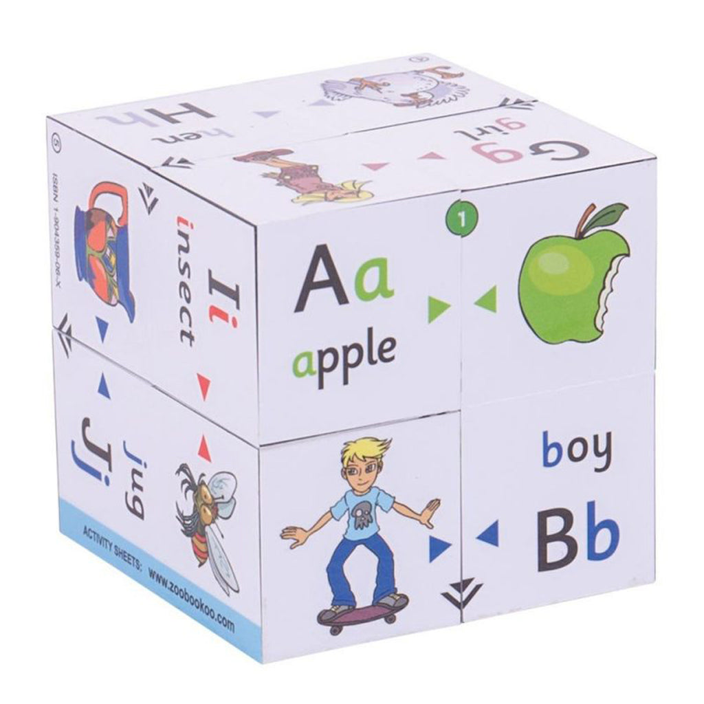 CUBE BOOKS: ALPHABET (FIRST PHONICS)