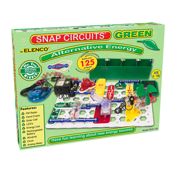 SNAP CIRCUITS: GREEN (ALTERNATIVE ENERGY)