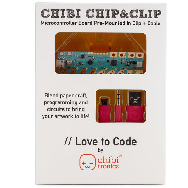 LOVE TO CODE: CHIBI CHIP & CLIP