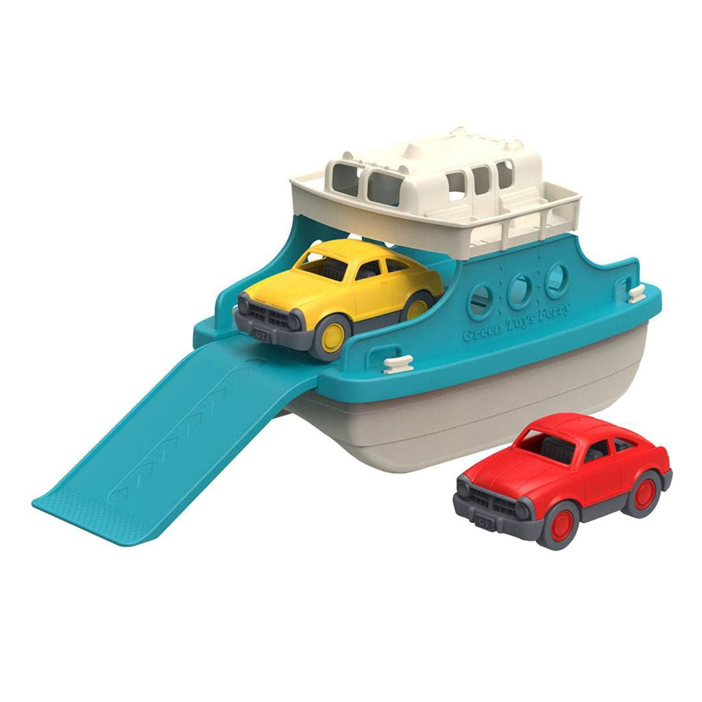 GREEN TOYS - FERRY BOAT WITH CARS