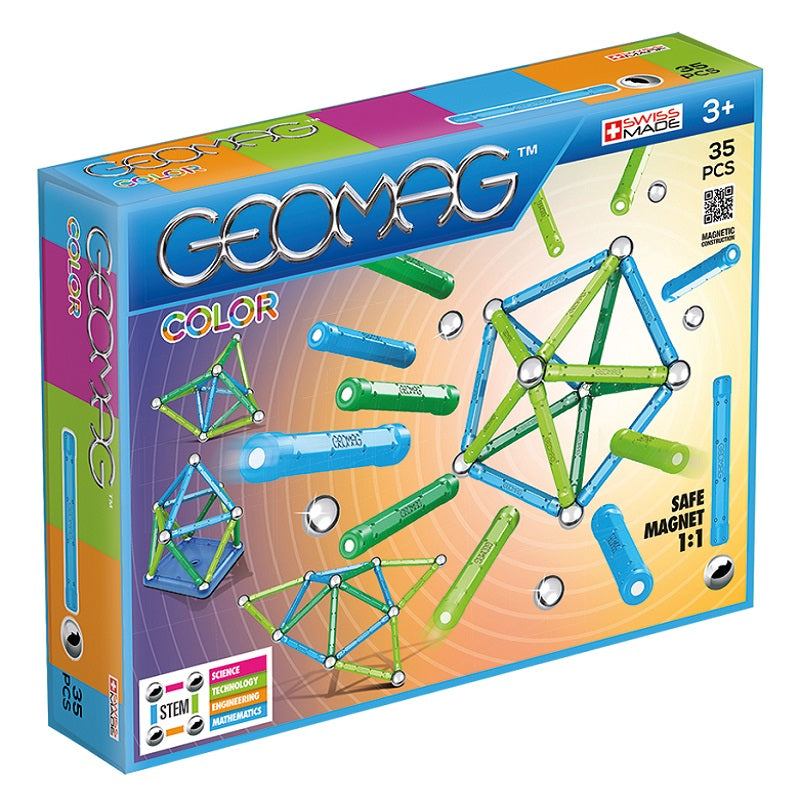 GEOMAG - COLOUR (35 PIECE)