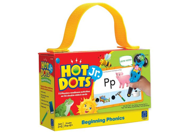 HOT DOTS JR: BEGINNING PHONICS CARD SET