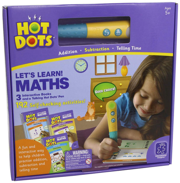 HOT DOTS: LET'S LEARN MATHS!
