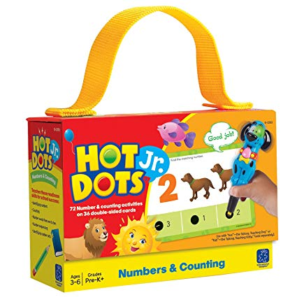 HOT DOTS JR: NUMBERS & COUNTING CARD SET