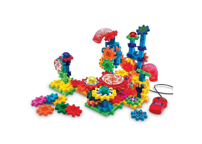 GEARS! GEARS! GEARS! LIGHTS & ACTION MOTORIZED BUILDING SET
