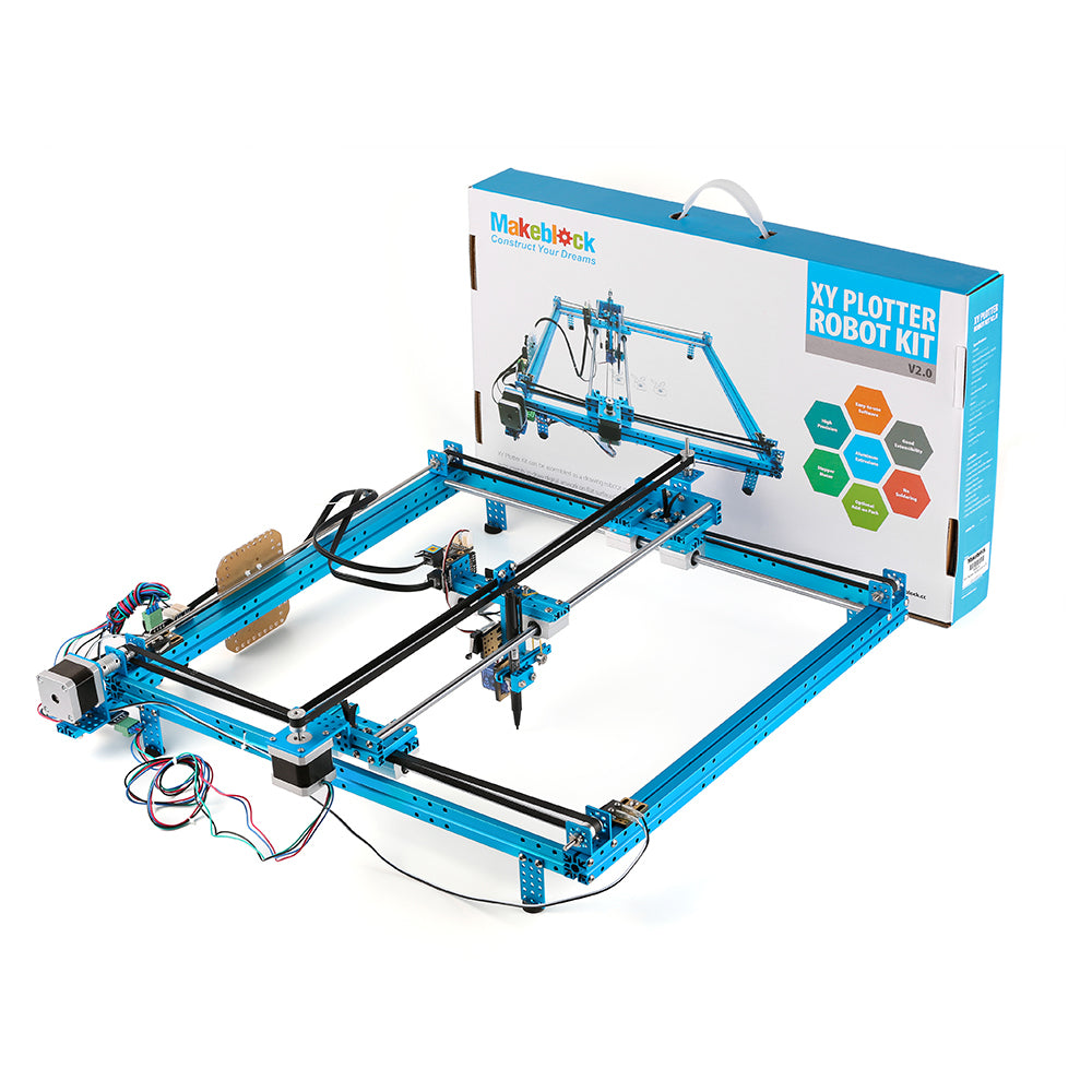 XY-PLOTTER ROBOT KIT