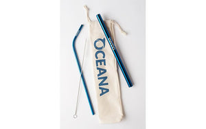 Oceana Reusable Straw Pack