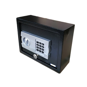 Digital Electronic Safe Keypad Lock with Black Box & Silver Gray Panel
