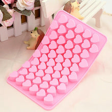 Load image into Gallery viewer, 55 Hearts Kitchen Baking Silicone Cake Chocolate Cookies Baking Mould