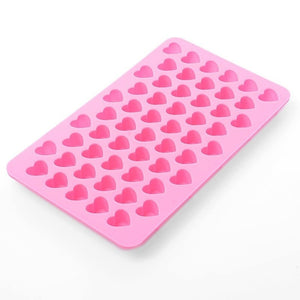 55 Hearts Kitchen Baking Silicone Cake Chocolate Cookies Baking Mould