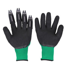 Load image into Gallery viewer, Gardening Garden Gloves With Fingertips Claws Genie Glove Raking Digging Planting Latex Work Tools Household Greenhouse Products
