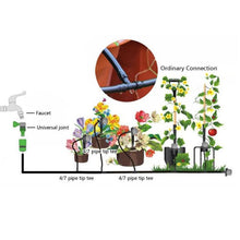 Load image into Gallery viewer, 5/15/25m Water Hose DIY Micro Drip Irrigation System Automatic Garden Sprinkler Watering Kit for Lawn Greenhouse Plants