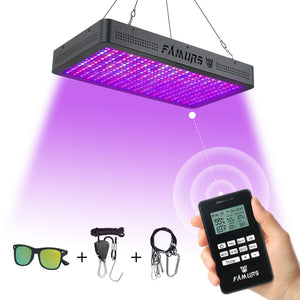 LED Full Spectrum Grow Lights  with remote control 3000W Veg/Bloom Timer Group control for Indoor Plants