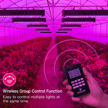 Load image into Gallery viewer, LED Full Spectrum Grow Lights  with remote control 3000W Veg/Bloom Timer Group control for Indoor Plants