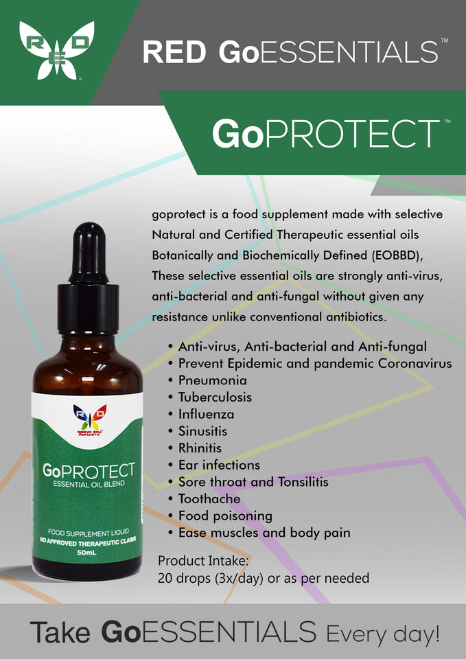 GoPROTECT™ - Essential Oil Blend