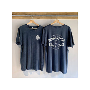 Stone-Washed Short Sleeve T-Shirt