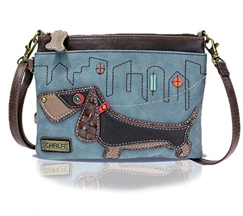 Chala Wiener Dog Cross Body Purse