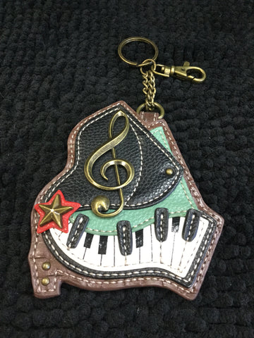 Music Coin Keychain