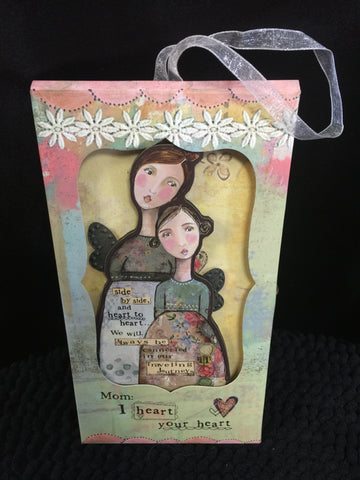 Heart to Heart Ornament with Photo Gift Card