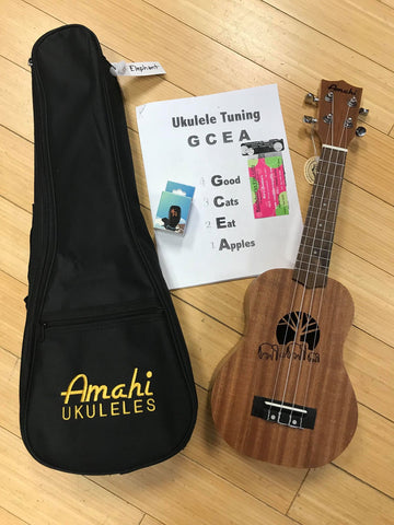 Ukulele Packs (All varieties!)