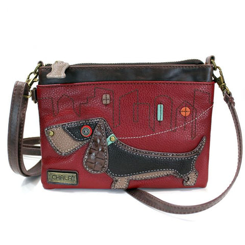 Chala Wiener Dog Mini Crossbody