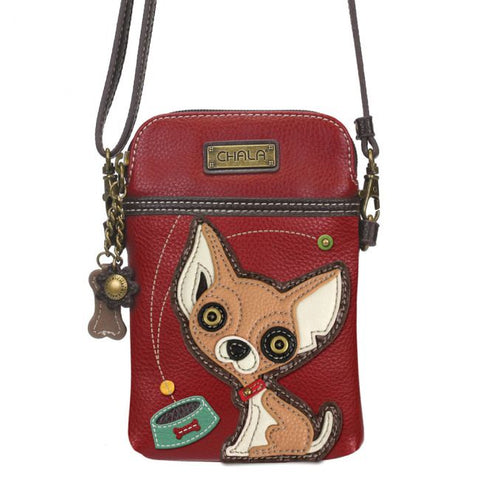"""Chihuahua"" Chala Cell Phone Crossbody"