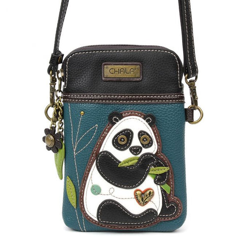 """Panda"" Chala Cell Phone Crossbody"