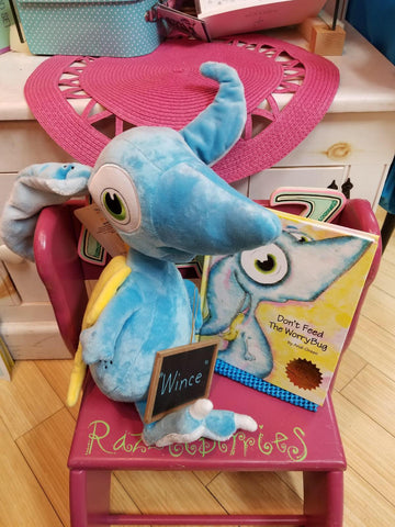 """Wince"" Worry Woo Plush Pet and book sold separately"