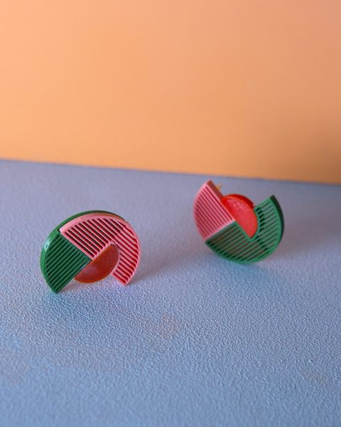 Almost Circle Earrings