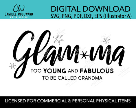 Digital Download Art Files - SVG, PNG
