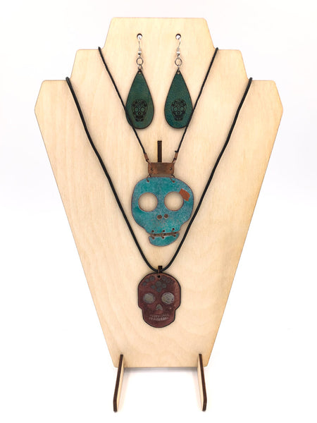 Necklace Display Stand, Deco Bust with Earring Holes - INSTANT Digital Download