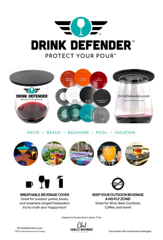 Drink Defender Wine Bug Beverage Cover