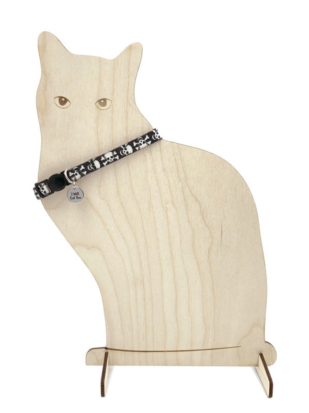 Cat SVG, Retail Display SVG, Pet Collar Display Stand, Pet Products Display - Digital Download for Laser Cutters