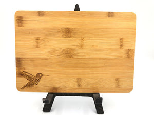 Bamboo Cutting Board - Hummingbird Decorative