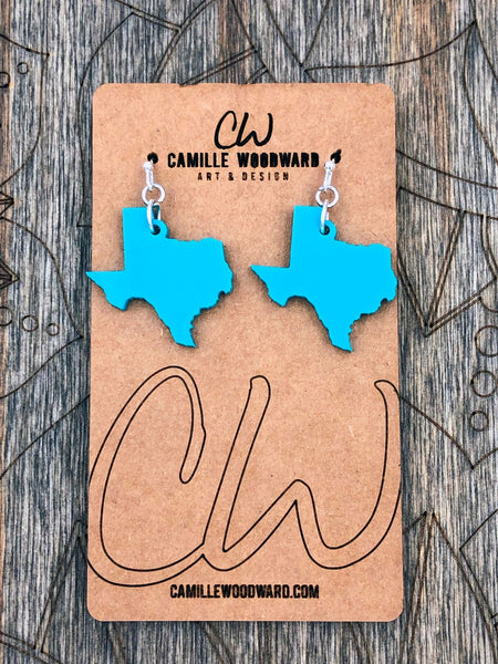 Texas Shape Earrings