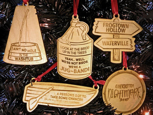 Emmet Otter's Jug-Band Christmas Movie-Inspired Ornaments, with Quotes