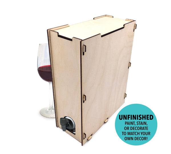 Boxed Wine Cover - 3L + 5L Bota Box, Black Box, Franzia, & More