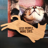 Reclining Cat Magnet - Various Designs