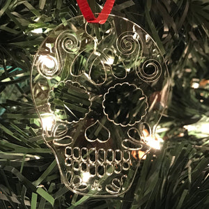 Sugar Skull Ornament - Cut Out