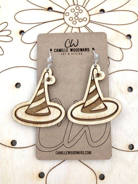Witch's Hat Earrings