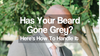 Has Your Beard Gone Grey? Here's How To Handle It.